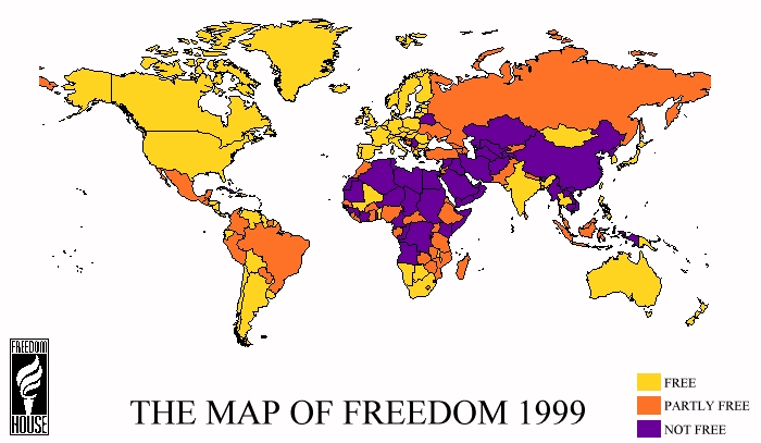 Political sociology click here to see its map of freedom 1999 publicscrutiny Choice Image
