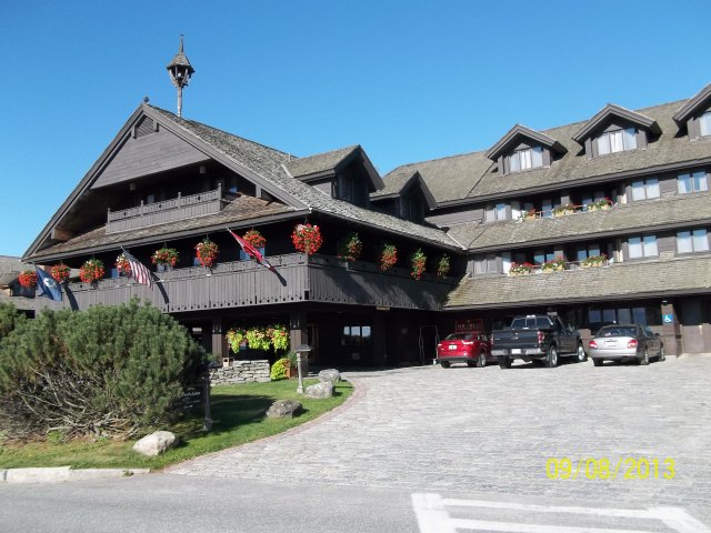 trapp family lodge visit in 2013