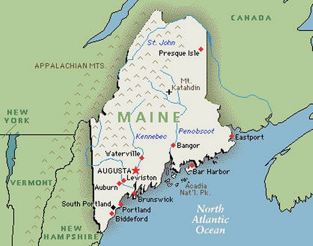 Florida To Maine Map.Bob Jensen S 2013 Set 01 Of Maine Favorites