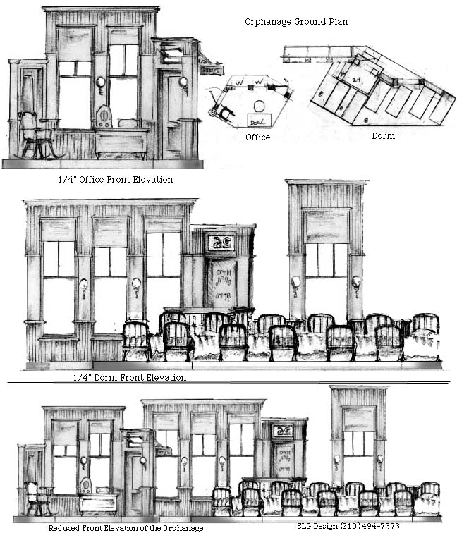 SLG Design's ANNIE, The Orphanage